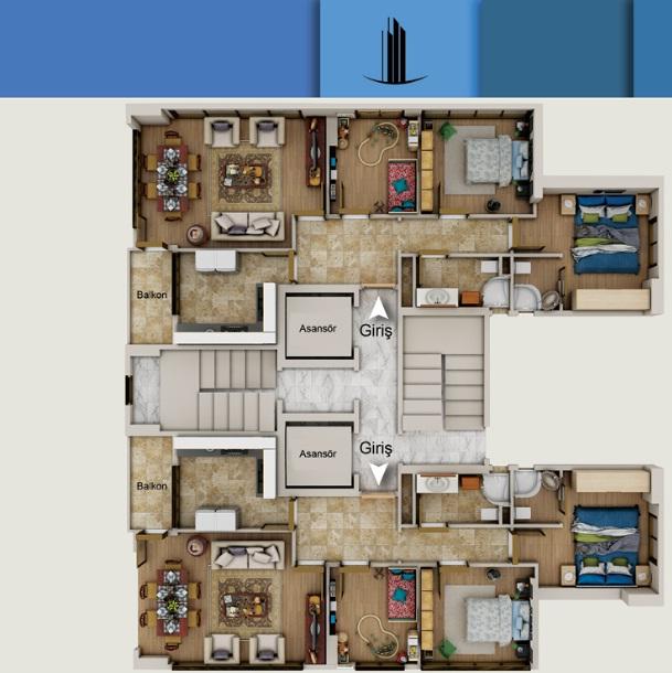 Teknik Residence Kartal