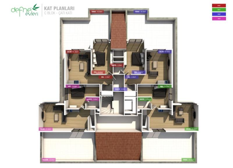 Defne Evleri Çanakkale