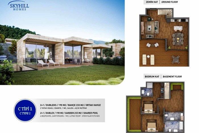 Skyhill Homes Bodrum
