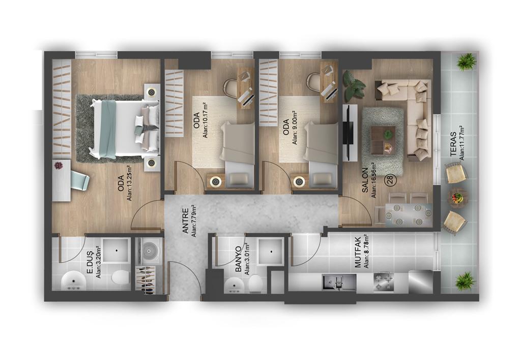Bahçeşehir Suites