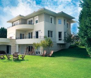 Villa sahibine özel marinası olan proje satışa çıktı