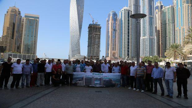 Vaillant başarılı yetkili satıcılarını Dubai'de ağırladı!