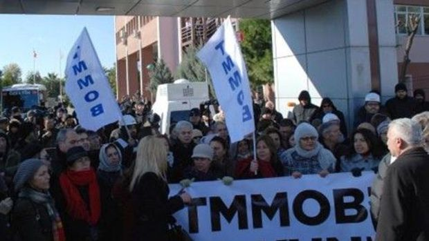 TMMOBden Torba Yasa protestosu!