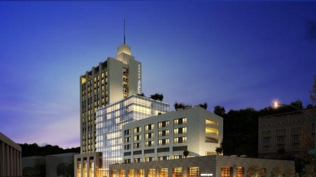 Kiev Hotel tarihi kent dokusuyla inşa ediliyor!