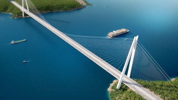 3. Köprüde Asya Yakasına ilk çelik tabliye!