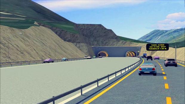 Türkiye'nin en uzun tünelinde yolun yarısına gelindi!