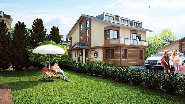 Merkez Zekeriyaköy Evleri fiyat listesi! 733 bin TL'ye 2+1 çatı dubleksi!