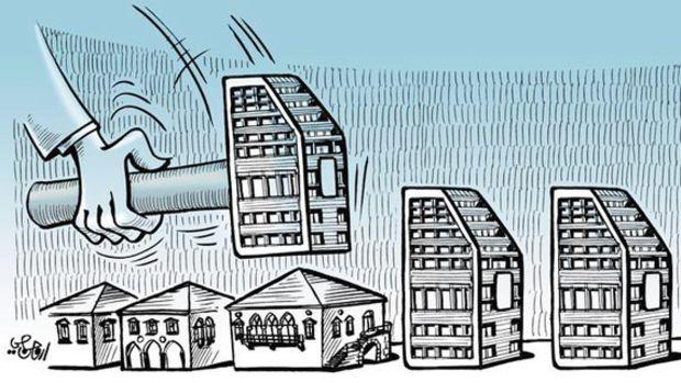 Türkiyede kentler 65 yılda 3 kez yenilendi!