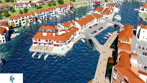 Dev Yapı'dan yeni proje Port Poseidon Muğla!