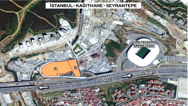 Emlak Konut Seyrantepe arsası 21 Nisan'da ihaleye çıkıyor!