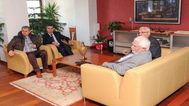 Başkan Tiryakİ esnaf odalarını ağırladı!