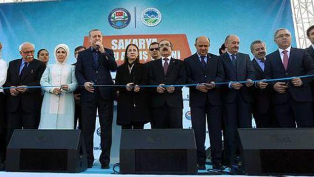 Cumhurbaşkanı, Sakarya'da toplu açılış törenine katıldı!
