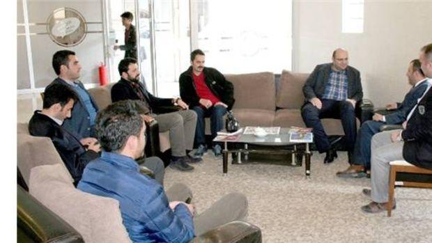 Başkan Orhan inşaat mühendisleri ile istişare etti!