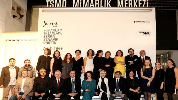 """Ünlü mimarlardan Serra Seramik için """"architiles"""" koleksiyonu!"""