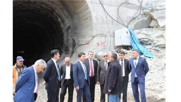 Akparti milletvekili adayları Kozcağız Barajı Şantiyesinde!
