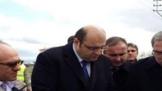 Toki Başkanı Turan Erzurumda!