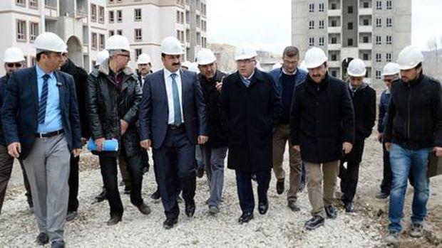 Toki Başkanı: 'Erzurum'a değer katacak bir proje gerçekleştiriyoruz'!