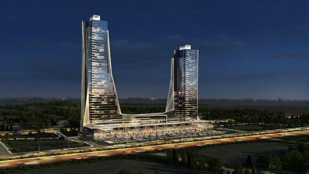Elmaar Towers satılık daire fiyatı minimum 197 bin TLye!
