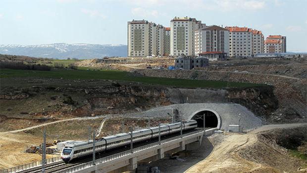 Bilecik hızlı tren tüneli üstüne TOKİ kondu!