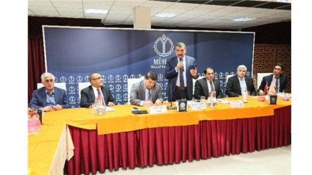 MÜSİAD Malatya Şubesi 2. İnşaat Sektörü Kurul Toplantısı!