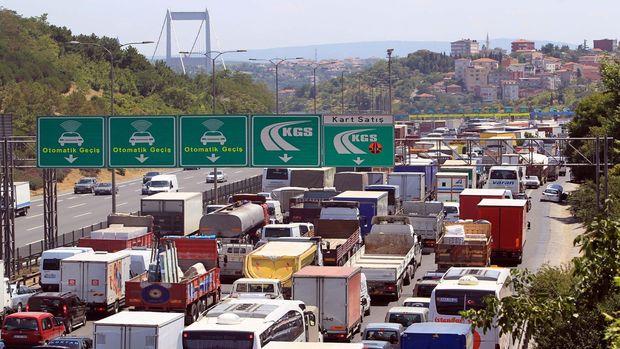 Köprü ve otoyolların geliri üç ayda 202 milyon liraya yaklaştı!