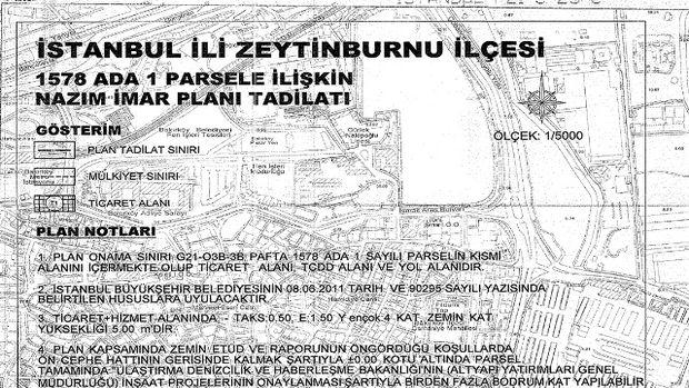 Zeytinburnu Kazlıçeşme imar planı askıya çıktı!
