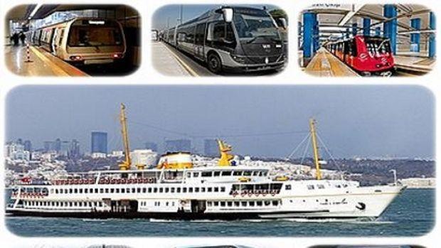 İstanbulda toplu ulaşım 24 merkezde toplanacak!