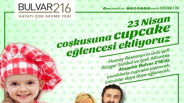 Bulvar 216 Ataşehir'de 23 Nisan kutlamaları!
