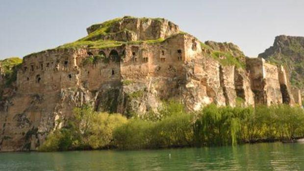 Gizli cennet Rumkale'de restorasyon sürüyor!