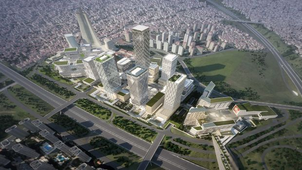 İstanbul Finans Merkezi inşaatında son durum!