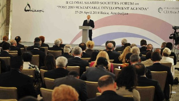 Baküde 3. Küresel Açık Toplumlar Forumu başladı!