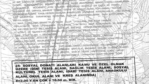 Başakşehir Ayazma kentsel dönüşüm planı askıya çıktı!