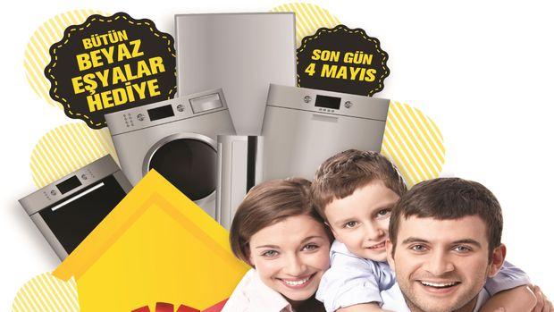 Halkalı ve Bahçeşehir projelerinde 2+1lere özel beyaz eşya hediye kampanyası!