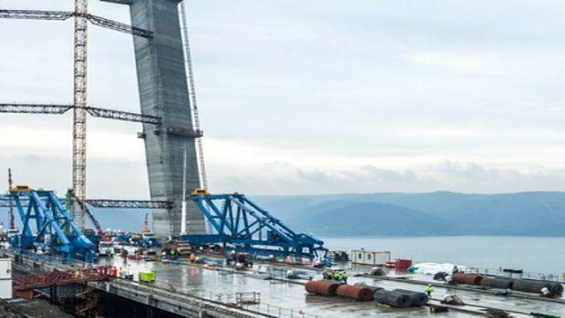 3. köprü inşaatında gelinen son nokta!