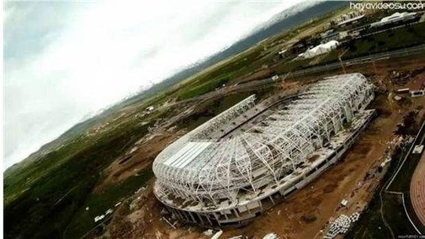 Malatya Arenanın havadan fotoğrafları!