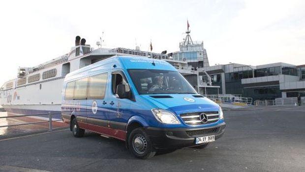 İDO, Marmaraya ücretsiz servis araçlarının sayısını artırdı!