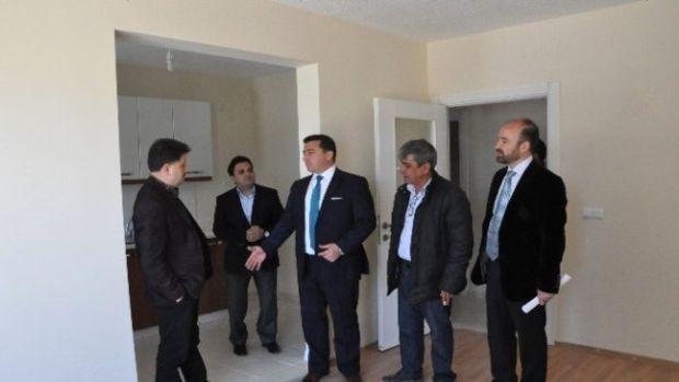 Milletvekili Fahrettin Poyraz TOKİ konutlarında inceleme yaptı!