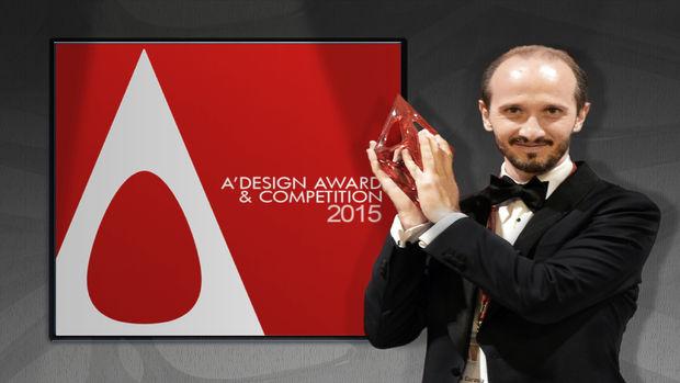 ISVEA 17. Uluslararası Tasarım Ödülü'nü kazandı!
