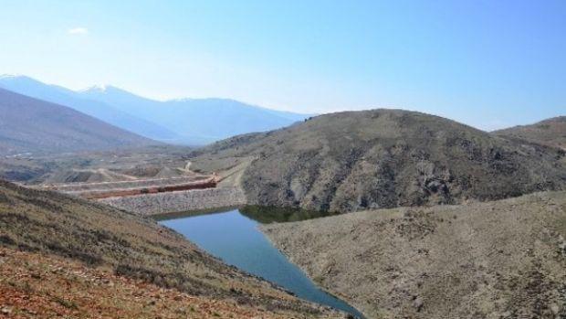 Elmalı Özdemir Göletinde seviye yüzde 90a ulaştı!