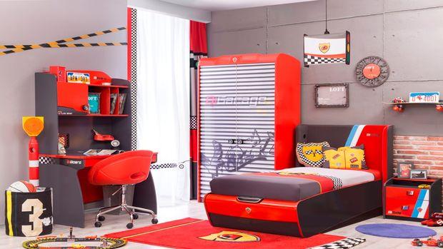 Çilek'ten araba tutkunu çocuklara özel odalar!