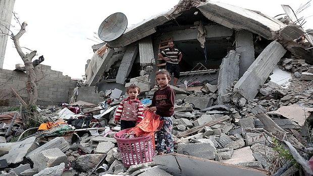 Gazze'de yeniden imar hareketliliği!
