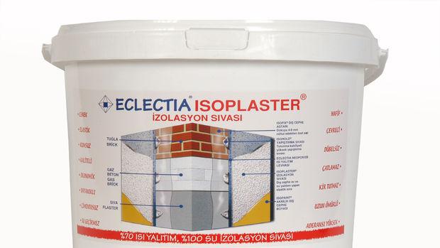 Isoplaster ile ısı yalıtımında % 70 enerji tasarrufu!