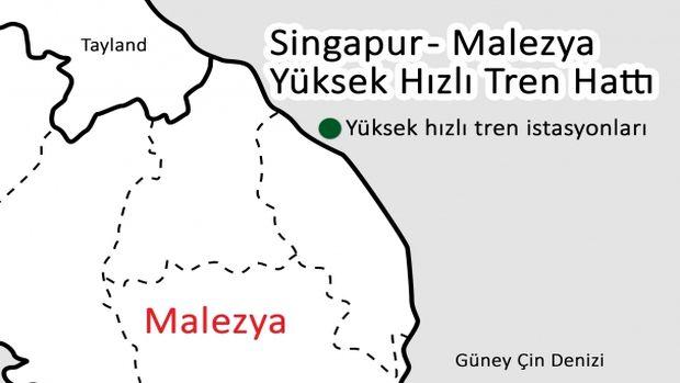 Singapur ve Malezyadan ortak hızlı tren projesi!