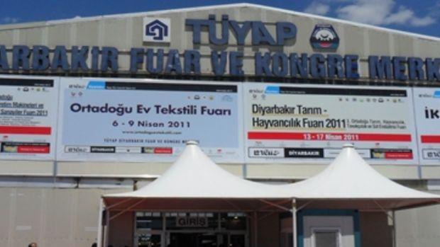 Diyarbakırda inşaat ve belediye ihtiyaçları fuarı!