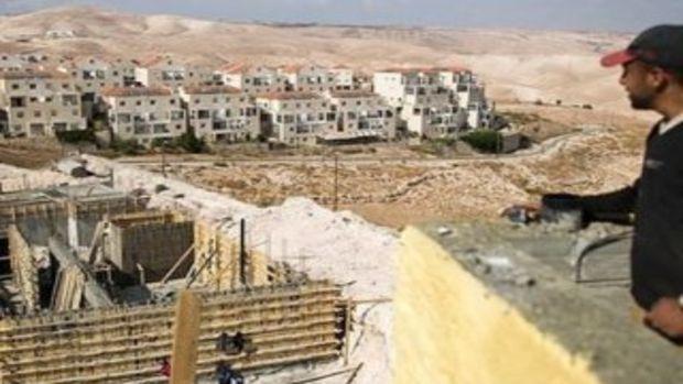 Batı Şeriadaki Yahudi yerleşim birimleri inşası!