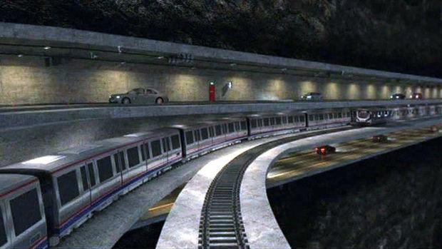 3 katlı büyük İstanbul tüneli projesi başladı!