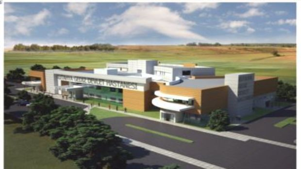 Gediz Devlet Hastanesinin inşaatı yeniden başladı!