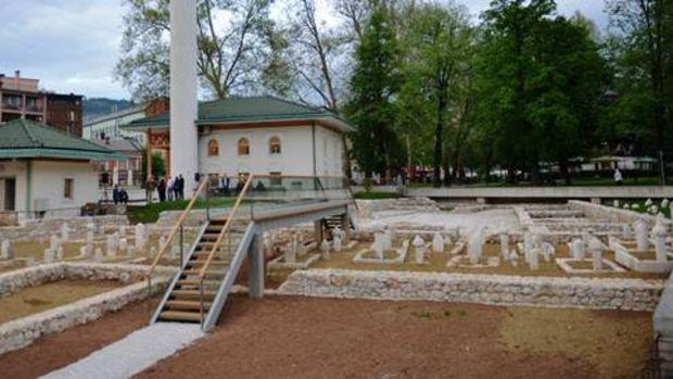 Saraybosna'daki Müslüman mezarlığı gün yüzüne çıktı!