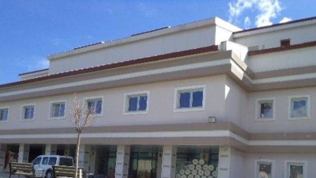 Kaymakam Şahin hastane inşaatını denetledi!