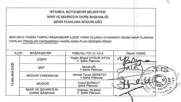 Başakşehir Oyakkent imar planı askıya çıktı!